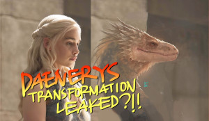 Danerys Targaryen turns into Dragon!!!